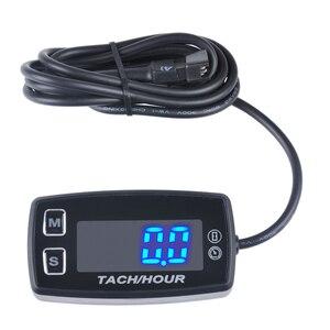 Image 2 - Runleader LED Tach שעה מטר HM035L מדחום מד מתח טמפרטורת מטר לעפר ימי quad אופני בור אופני גולף