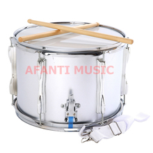 13 inch stainless steel Afanti Music High Snare Drum (AGS-008)