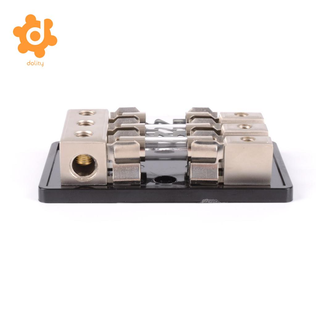 Car Stereo Audio 1-Way AGU In-Line Fuse Holder Power Distribution Block
