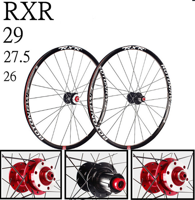 MTB mountain bicycle bike CNC front 2 rear 5 sealed bearings disc wheels 26/27.5/29inch bicycle wheelset rim