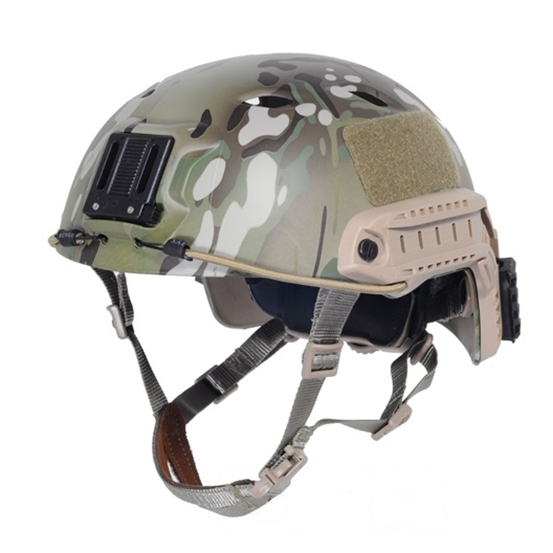 Sports Helmets New Tactical Base Jump Helmet Multicam with hunting & Airsoft Protective Military Type Helmet Free Shipping sports helmets tb fma cp dummy af helmet fast base jump helmet tb310l black for airsoft paintball and hunting with free shipping