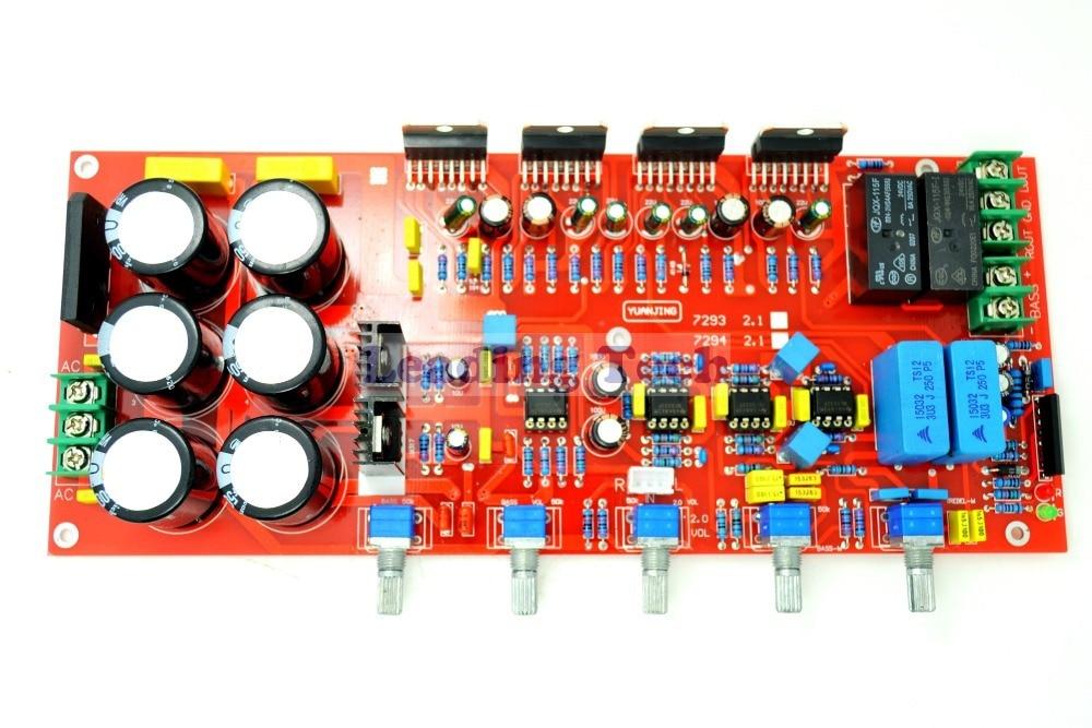 TDA7294 Amplifier Board 2×80W+160W Subwoofer