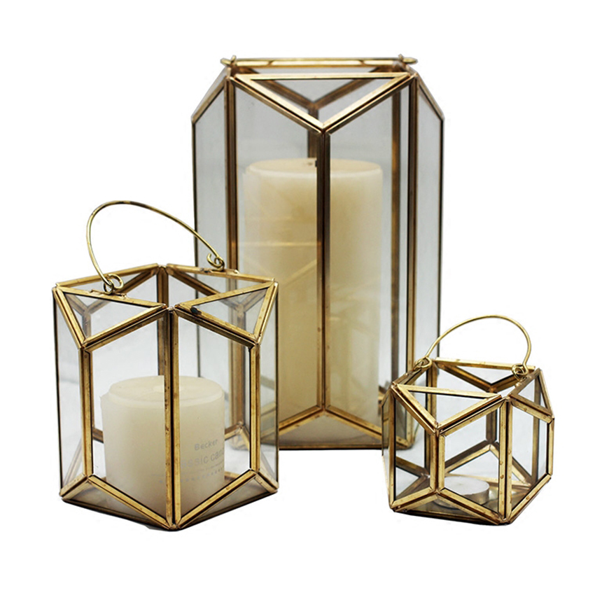 Europe vintage glass wall hanging votive candle holder for Hanging votive candles