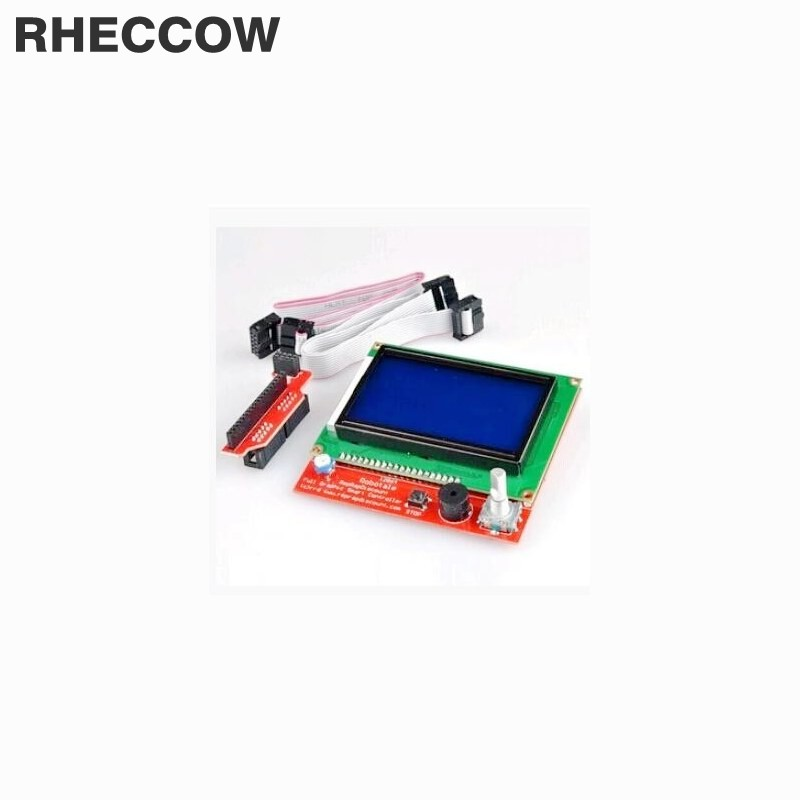 Rheccow 20set/lot For Ramps1.4 Lcd 12864 Lcd Control Panel 3d Printer Smart Controller