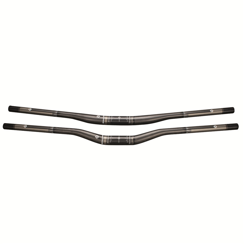 New UD Full Carbon Fiber MTB Handlebar Flat/Rise Carbon DH Mountain Bicycle Handlebar Bike Part 31.8*750/800/820mm Bicycle Parts fouriers hb mb002 dh mtb bicycle handlebar carbon fiber mountain bike handlebar 31 8x780mm