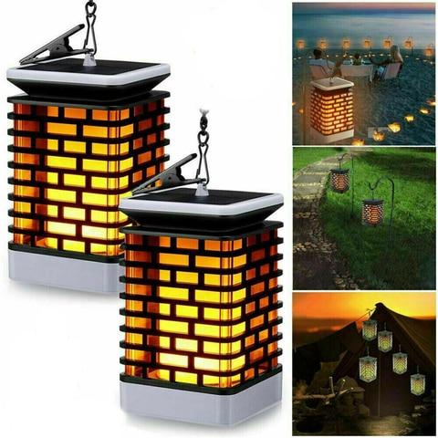 quadrados chama cintilacao pendurado decoracao lampada xiaomi foco luz