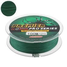 100M 110 metre yeşil PE örgü misina 4 ipliklerini 6 8 10 15 25 35 40 50LB Multifilament Fishline balıkçılık tel