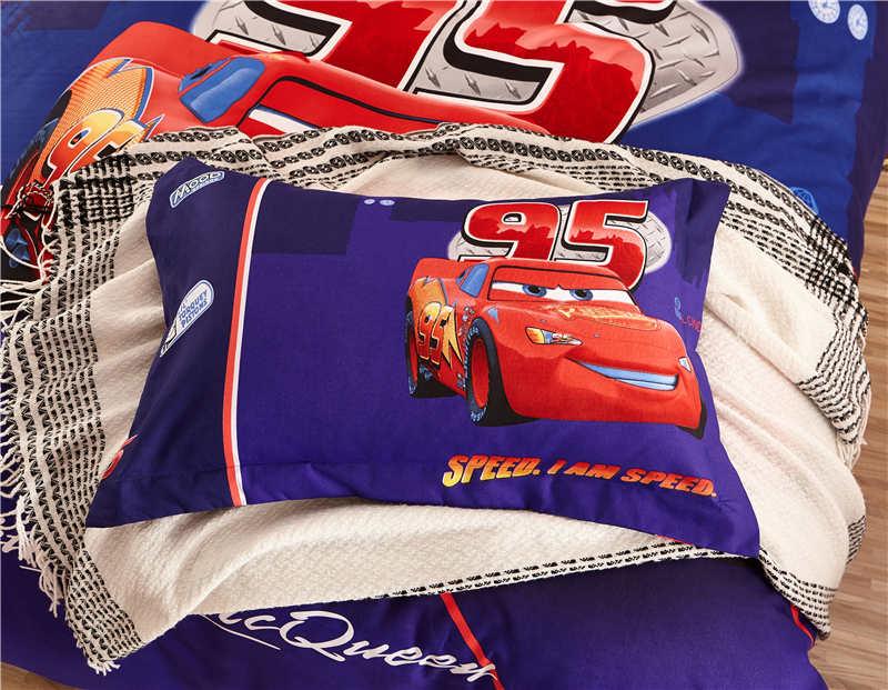 Cool Mc Queen cars Comforter bed sheet set 3d single twin full queen size disney quilt cover boy child gift beddings set linens