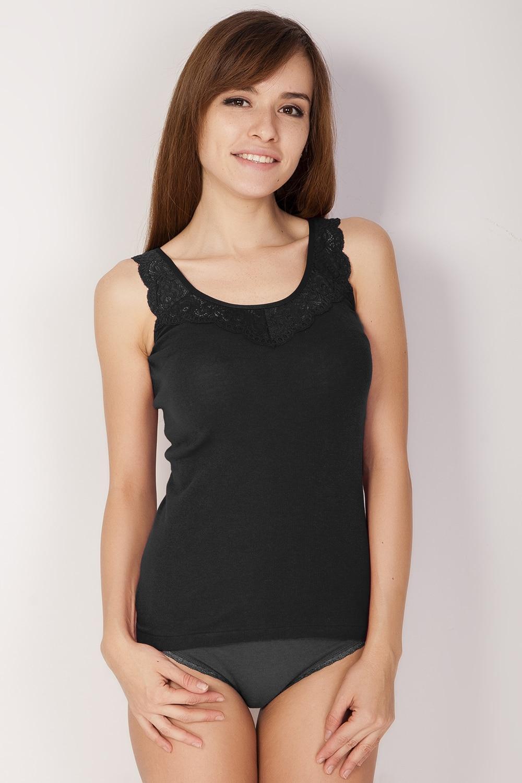 T-Shirts VIS-A-VIS LM1002N  Cotton Black TmallFS black cold shoulder design pleated front v neck long sleeves t shirts
