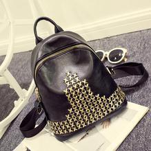 2017 рюкзак женщины бесплатная доставка reviet искусственная кожа женщины моды школа водонепроницаемый ноутбук девочек-подростков рюкзаки