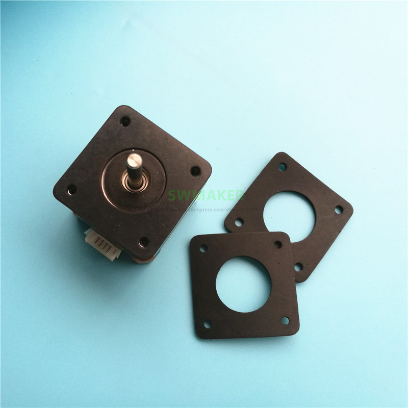 1pcs NEMA 17 Or Nema 23 Stepper Anti Vibration Rubber Damper For CNC 3D Printer 2mm Thickness