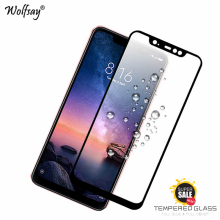 Full Glue Glass For Xiaomi Redmi Note 6 Pro Screen Protector Tempered Glass For Xiaomi Redmi Note 6 Pro Phone Film Redmi Note 6 screen protector for xiaomi redmi 6 pro protection film hd tempered glass