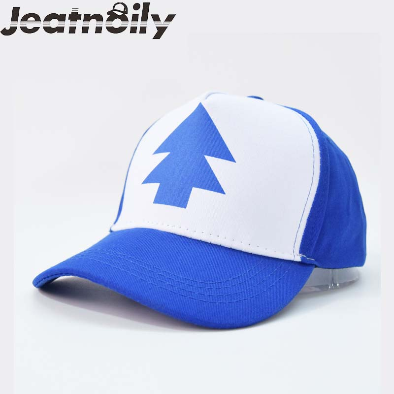 2018 New Spring Summer Gravity Falls U.s Cartoon Mabel Dipper Pines Cosplay Cool Baseball Mesh Caps Adjustable Sprt Hat A-3947 gravity falls dipper s and mabel s guide to mystery and nonstop fun