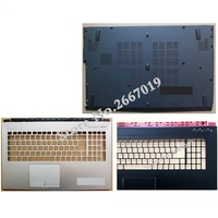 New For MSI GE62 TOP COVER Palmrest cover Upper Case 307 6J3C223 Y31 E2P 6j10216 Y31/ Bottom Base Case Cover with CD ROM
