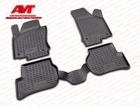 Floor mats for Volkswagen Jetta 2005 4 pcs rubber rugs non slip rubber interior car styling accessories