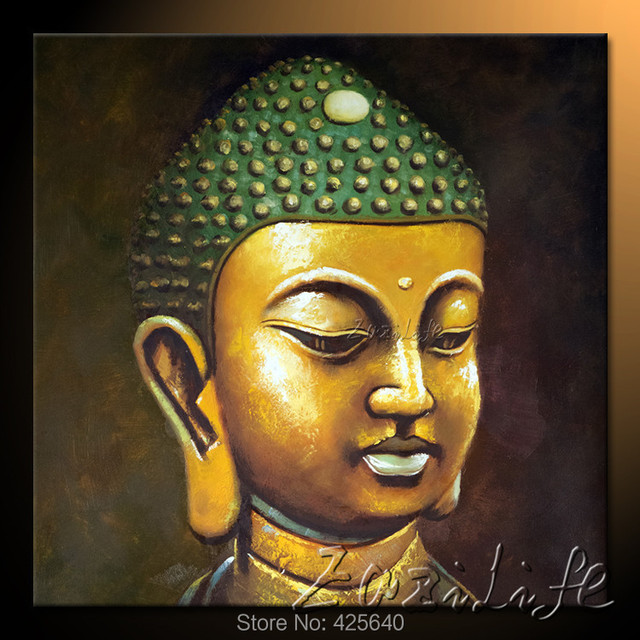 Aliexpress buy buda buddha painting zen buddha canvas wall buda buddha painting zen buddha canvas wall art modern contemporary abstract painting hand painted buda 8 sciox Image collections