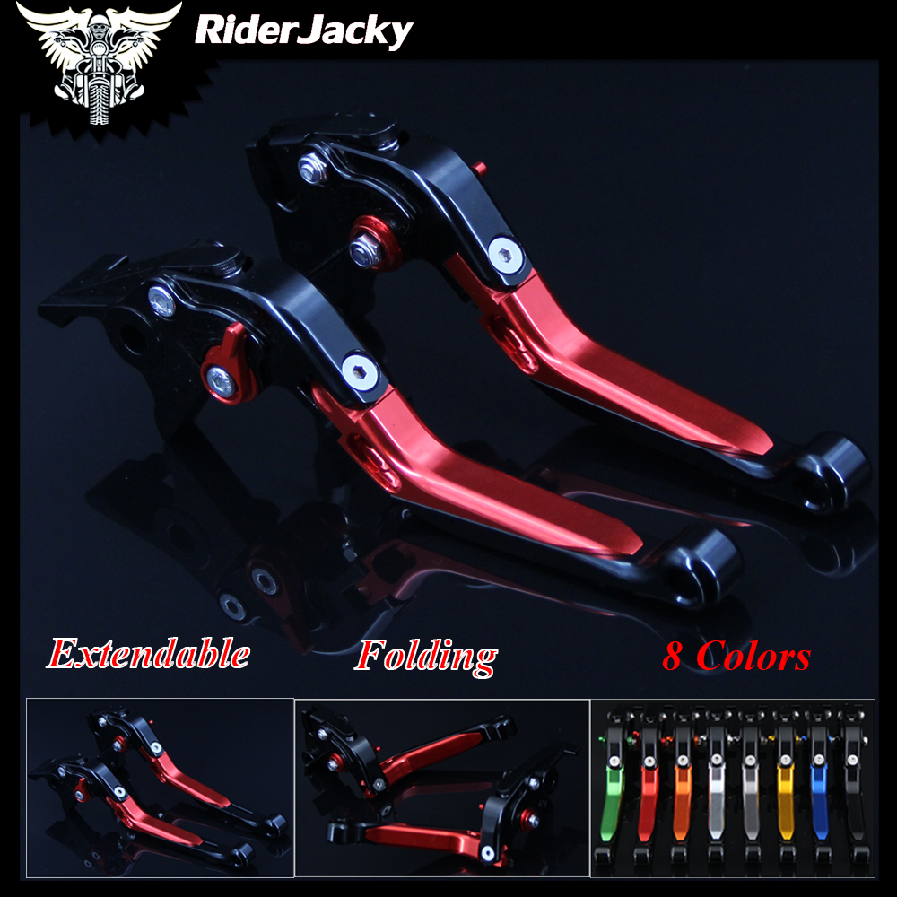 RiderJacky For Yamaha DT 50R DT50R (70K10/70K1A) 2012-2013 12 13 Red+Black Adjustable CNC Motorcycle Brake Clutch Levers bigbang 2012 bigbang live concert alive tour in seoul release date 2013 01 10 kpop