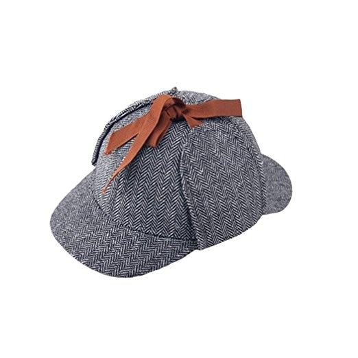 42dcfa95 TUNICA Brand Sherlock Holmes Detective Hat Unisex Accessories Women Mens  Winter Hats Ear Flaps Baseball Cap Deerstalker-in Baseball Caps from  Apparel ...