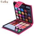 Beauty Girl 32 Color Cosmético Mate Crema Potenciador de Brillo de Labios Sombra de Ojos Paleta de Maquillaje de Sombra de Ojos Shimmer Set Aug5