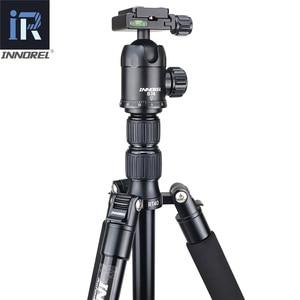 Image 3 - RT40 Professionelle Fotografische Reise Stativ Einbeinstativ Compact Aluminium Legierung Kamera Stehen für DSLR Hohe Qualität 164cm Max