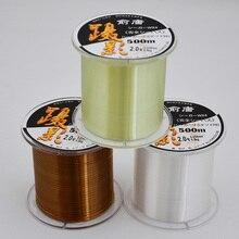 Japan Nylon Line  547Yds/500M Masters Premium Monofilament Line 0.23-0.5mm Fishing Line 10-40LB Mono Nylon Line Fishing Tackle