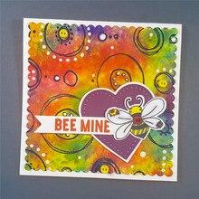 Eastshape Bee Honeycomb Animal  Metal Cutting Dies for Scrapbooking Card Making Album Embossing Crafts Die Craft Stencil