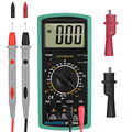 Multimeter 2000 counts Multimetro AC/DC Digital Multimeter  Professional Tester Meter With Probe Test Leads Crocodile Clip Tool