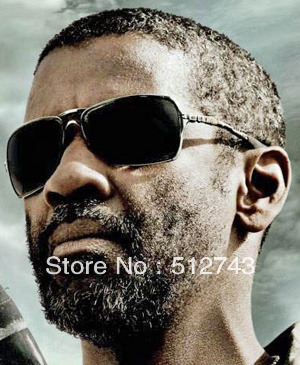 fcf0f3724099 Denzel Washington Inmate Sunglasses Fashion Brand Metal Sun glass Polarized  Lens Top Quality Active Glasses