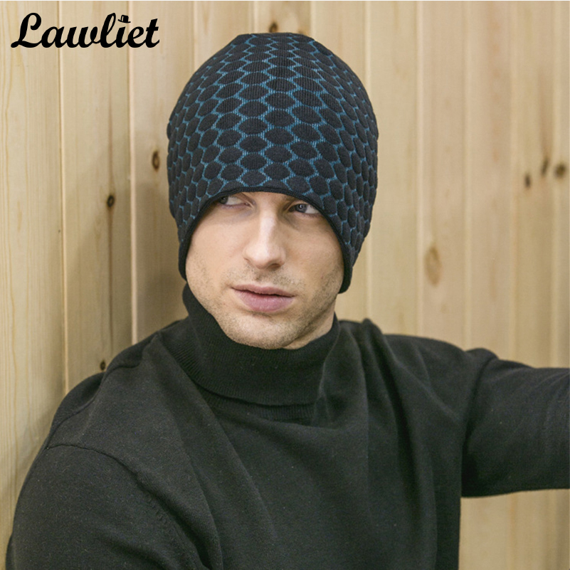 New Autumn Winter Hats for Men Warm Knitted Hats Male Skullies Beanie Hat Gorros Beanies Street Hats Snow Caps Ski Bonnet Homme winter women beanie curl all match crochet knitted hiphop hats warm ski hat baggy cap femme en laine homme gorros de lana 62