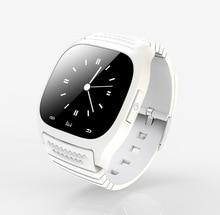 Wasserdichte Smartwatch M26 Bluetooth Smart Uhr Mit LED Alitmeter Musik-player Schrittzähler Für Android Smartphone T30 PK GT08 U8