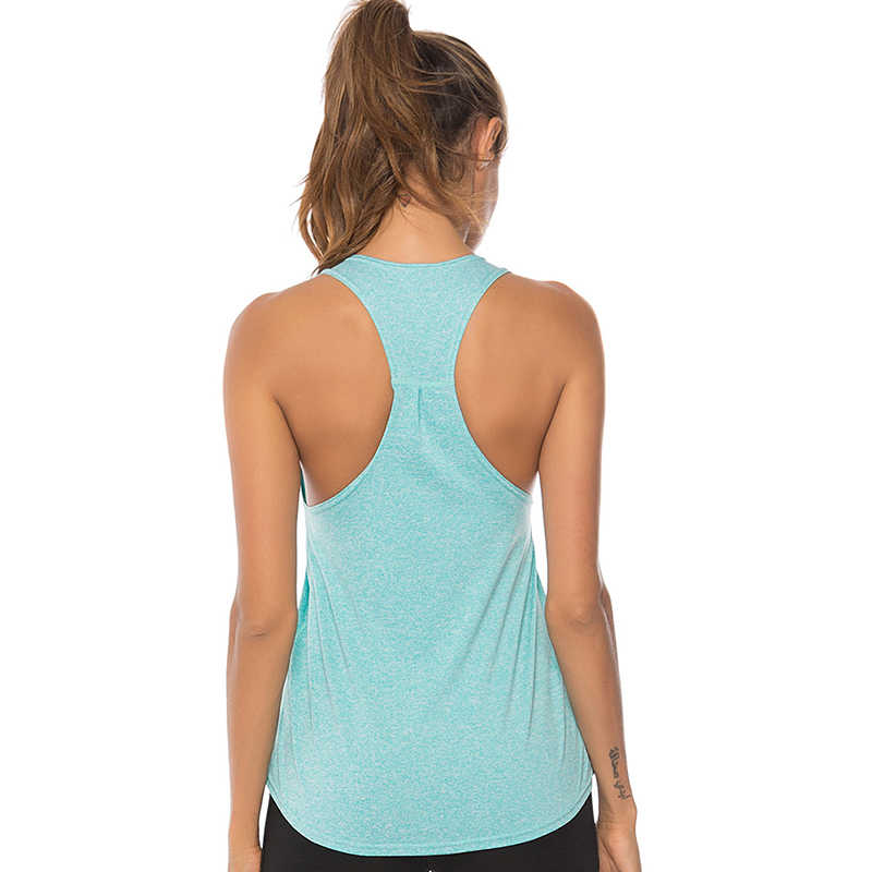 S-XL Sleeveless Yoga Shirts Racerback Yoga Vest Sport Singlet Women Athletic Fitness Sport Tank Tops Gym Running Training Shirt