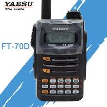 Para o original yaesu FT 70D walkie talkie c4fm/fm transceptor de rádio em dois sentidos handheld digital de dupla faixa