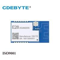 E28-2G4M20S LoRa Lange Bereik SX1280 2.4 GHz 100 mW IPX PCB Antenne IoT uhf Draadloze Transceiver Zender Ontvanger RF Module