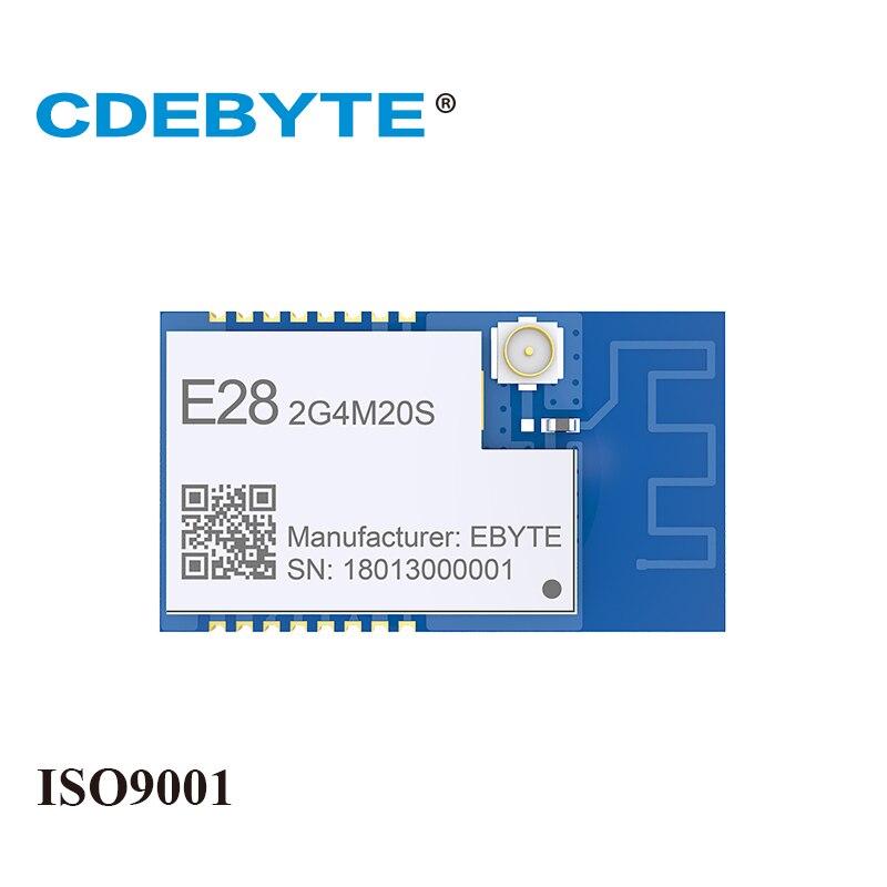 E28-2G4M20S LoRa de largo alcance SX1280 2,4 GHz 100 mW IPX PCB antena IoT uhf inalámbrico transmisor receptor RF módulo