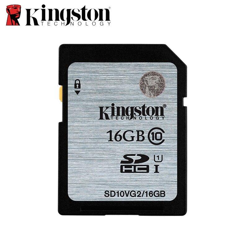 Kingston карты памяти 32 ГБ class10 64 ГБ 128 ГБ высокое Скорость SD карты SDHC 16 ГБ картао де memoria карт SD tarjeta для HD видео Камера
