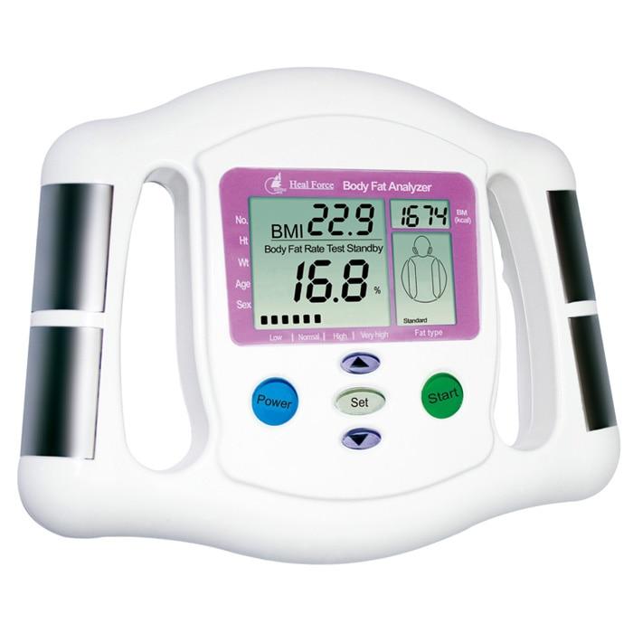 Heal Force Prince-120 Body Fat Analyzer Intelligent Tester Monitor Digital LCD Fat Analyzer BMI Meter Weight Loss Tester Calorie павел лукницкий путешествия по памиру