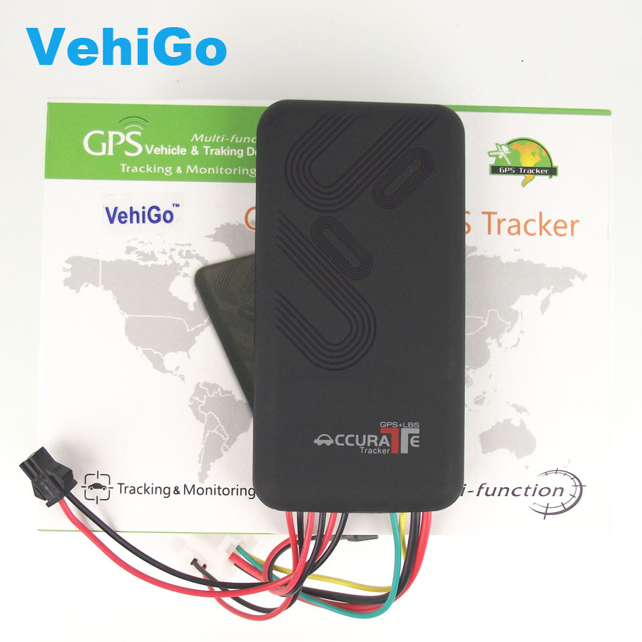 VehiGo GT06 GPS Tracker SMS GSM GPRS GPS Vehicle Tracking Device Monitor Locator Remote Control for Car Motorcycle Scooter GPS h02 gps vehicle tracker upgrade edition car locator gps gsm sms gprs
