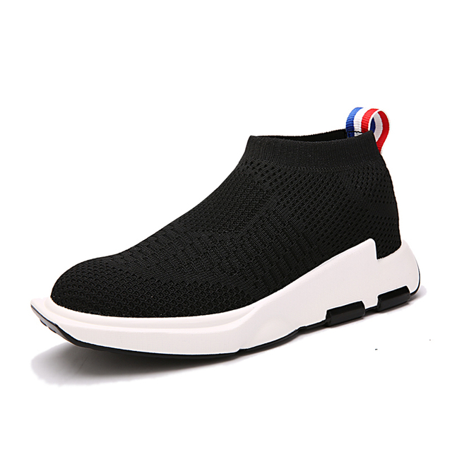 47ab15e143 Black-Boy-Casual-Shoes-Air-Mesh-Children-s-Shoes-For-Boys-Fashion -Breathable-Kids-High-Heel.jpg_640x640.jpg
