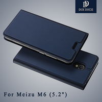 Meizu M6 Case Original Dux Ducis Brand Wallet Leather Cover Meizu M6 Note Flip Stand Leather