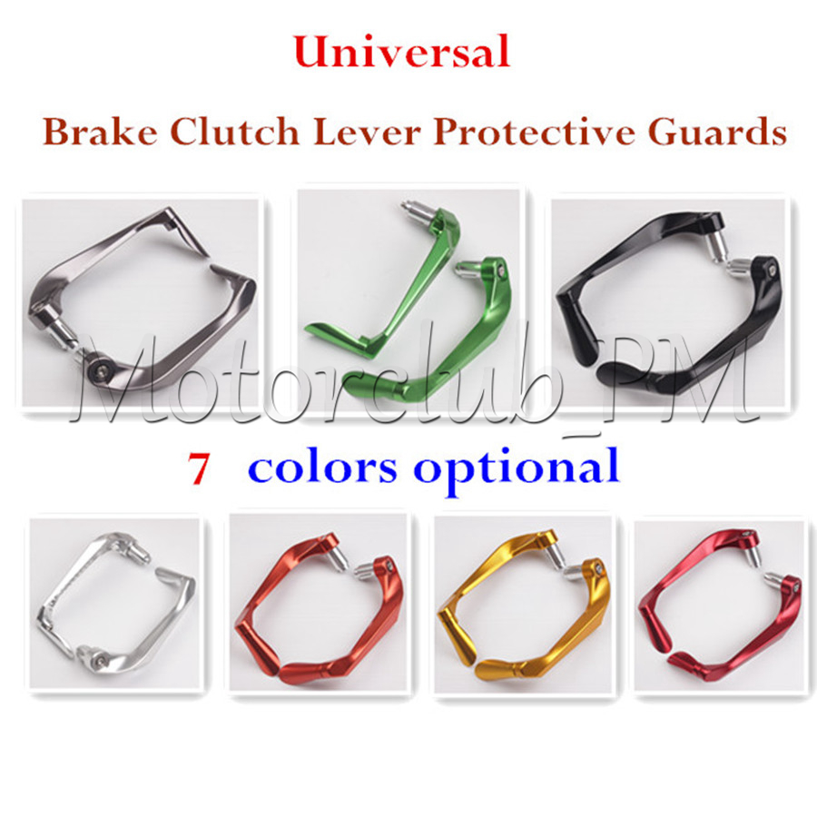 Universal Proguard Brake Clutch Lever Protective Guards Bar For Yamaha Honda Suzuki Motorcycle Accessories 7 Colors New