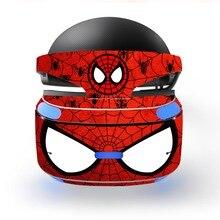 Sipderman Iron Man Verwijderbare Vinyl Decal Skin Sticker Cover Protector Voor Playstation Vr Ps Vr Psvr Bescherming Film Skin Sticker