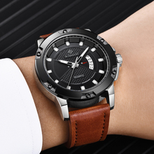 2018 NEW Fashion Mens Watches Top Brand Luxury Waterproof 24 Hour Date Quartz Watch Man Leather Sport Wrist Watch Male Clock big dial watches men hour mens watches top brand luxury quartz watch man leather sport wrist watch clock alloy strap