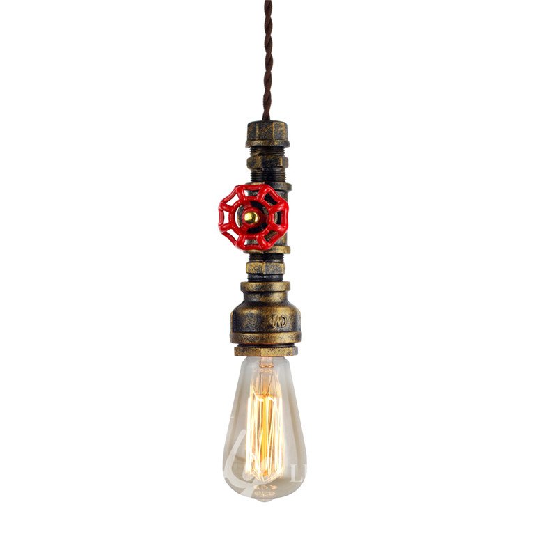 Iwhd Water Pipe Retro Vintage Ceiling Light Fixtures: Judy Lighting Water Pipe Pendant Light Vintage Retro