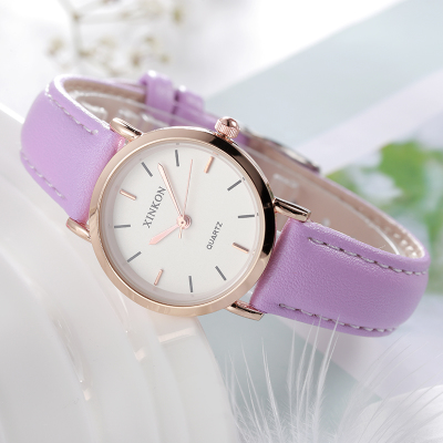 Department of Dreams with watch students Korean version of the simple casual atmosphere chic wind small fresh wild trend юбка dreams gone with the wind h111 2015
