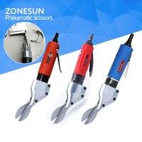 ZONESUN Straight Type Pneumatic Scissors Aluminum Sheet Cut Stainless Steel Plate Gas Cutting Scissor Diamond Mesh