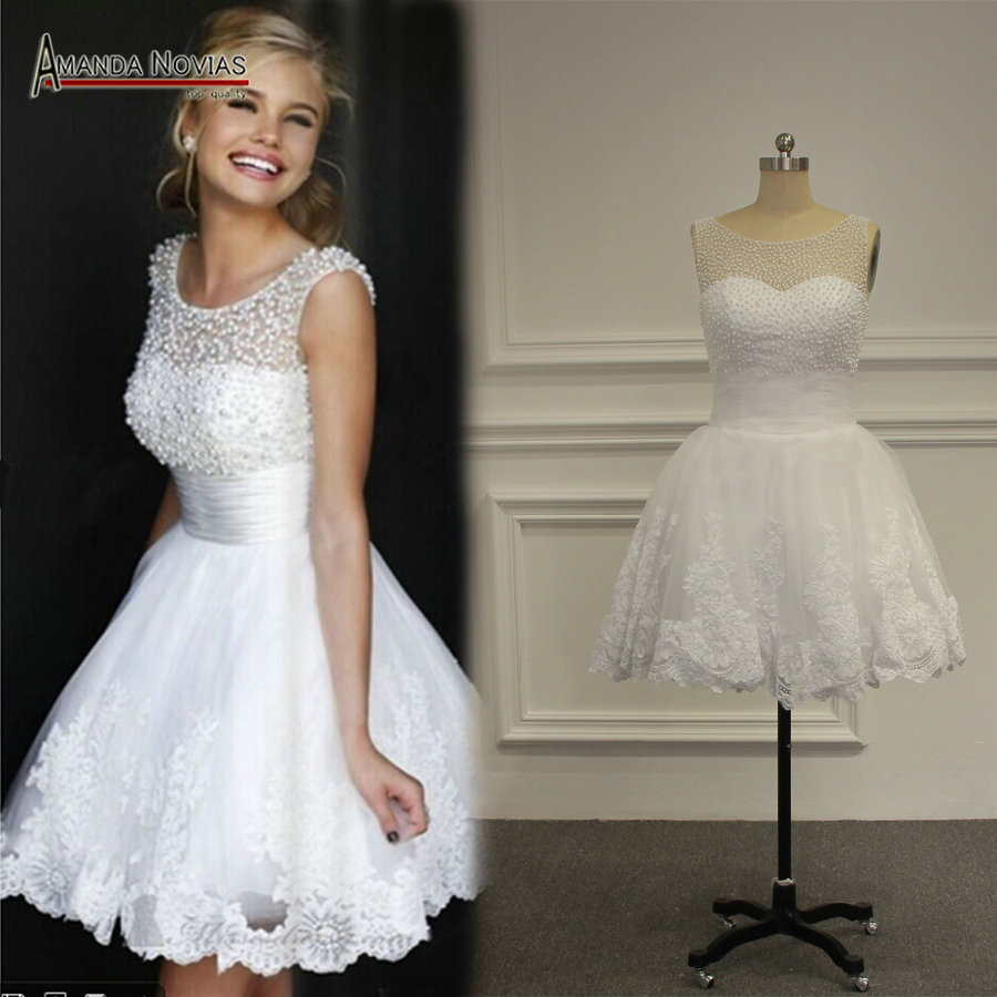 Popular mini wedding dress buy cheap mini wedding dress for Short mini wedding dresses
