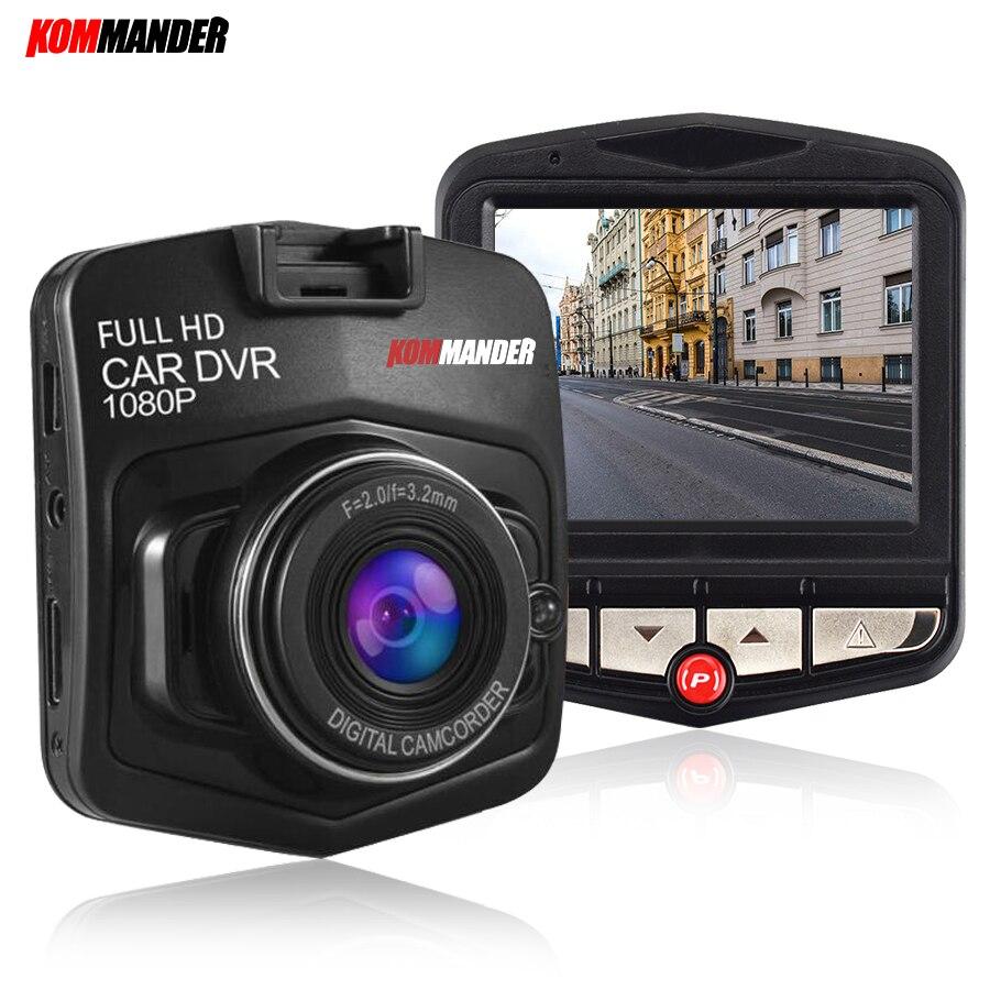 Видеорегистратор Kommander 170 с широкоугольным углом, g-датчик, ночное видение, мини-автомобиль, Full HD 1080 P, камера, видеорегистратор для автомобиля