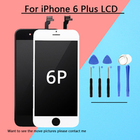 1PCS LOT 100 Tested LCD For IPhone 6 Plus Display With Digitizer Replacement Quality AAA No