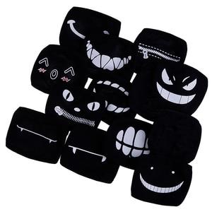 Image 5 - 11style Black Anime Cartoon Kpop Lucky Bear Women Men Muffle Face Mouth Masks Kawaii Cotton Mouth Face Mask