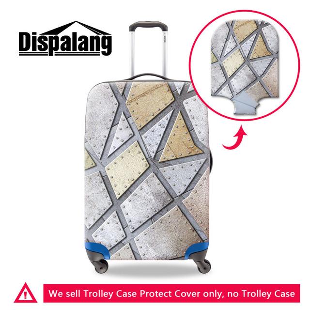 Dispalang Protetores de Metal Padrão de Impressão Elástica Bagagem Carrinho de Bagagem de Proteção Capas Para 18-30 Polegada Tampa Mala